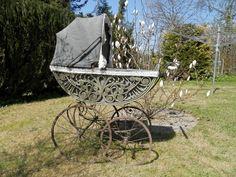 Traumhafter antiker Kinderwagen große Räder Porzellangriff toll in Rheinland-Pfalz - Winnen | Kunst und Antiquitäten gebraucht kaufen | eBay Kleinanzeigen