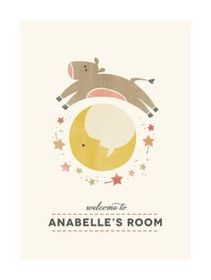 Nursery Rhyme by Kimberly Morgan for Minted