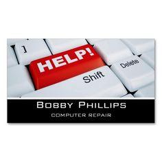 Professional modern plain simple computer repair business card professional modern plain simple computer repair business card pinterest computer repair business cards and business colourmoves