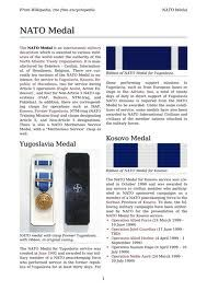 Canadian military decorations and medals SFOR Bosnia 2002