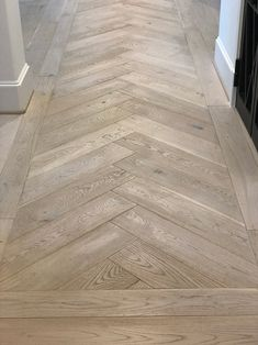 Hallmark Floors Alta Vista Laguna Herringbone install by Houston Flooring Center