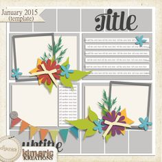 Quality DigiScrap Freebies: Template freebie from Kimeric Kreations