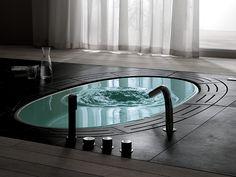 Uno dei simboli del lusso e un sogno comune a tutti: la #vasca #idromassaggio.
