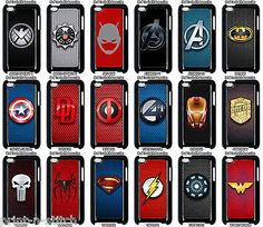 Marvel / dc super #heroes case for #apple ipod touch 4th, 5th & 6th #generation , View more on the LINK: http://www.zeppy.io/product/gb/2/221959824273/