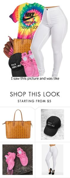 """""""""""Nah I'm Good""""✌"""" by fashionkilla-lex ❤ liked on Polyvore featuring MCM, women's clothing, women's fashion, women, female, woman, misses and juniors"""