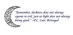 from the house of night series <3