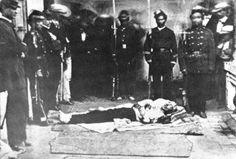 Assassinato de Garcia Moreno (Presidente católico do Equador - 6 de agosto de 1875)