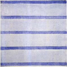 Agnes Martin (1912-2004). #stripes #striped
