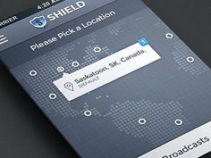 Dribbble - Shield by Adrian Balkwill