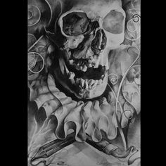 Drawing by Andrius Augulis at Augis Tattoo in Šiauliai, Lithuania