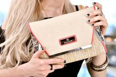 PINK CLUTCH BY RIVER ISLAND