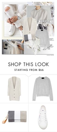"""""""Neutral of the day~"""" by rainie-minnie ❤ liked on Polyvore featuring American Vintage, Line, Superga and Rolex"""