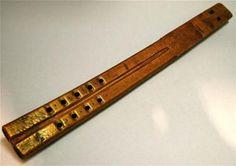 18th 19th century antique wooden flute