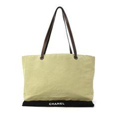 CHANEL Shoulder bags Beige Canvas