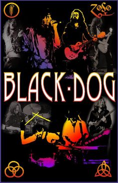 Led Zeppelin. Black Dog.