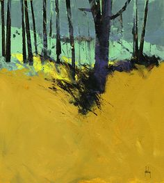 All was quiet | Acrylic on board/11.5 x 12.5 inches/2014 | Paul Bailey | Flickr