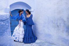 Trajes de flamenca 2017. Colección Cruzando Fronteras