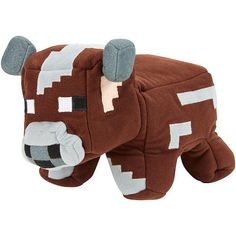 Minecraft Reversible Plush - Cow to Raw Beef