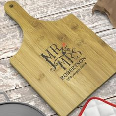 Personalised Dotty Mr and Mrs Paddle Board