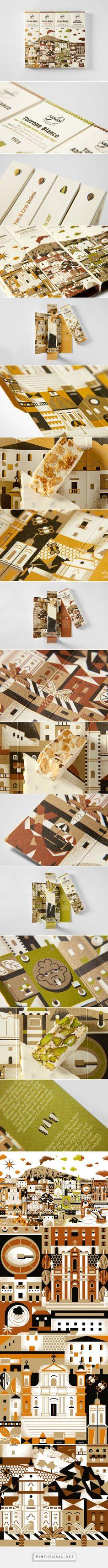 Sabadì - I Torroni #nougat #packaging designed by Happycentro - http://www.packagingoftheworld.com/2015/03/sabadi-i-torroni.html