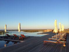 Ria Formosa Ria Formosa, Amazing Swimming Pools, Algarve, Contemporary Design, Opera House, Portugal, Building, Photography, Travel