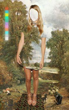 Louis Dourado, digital collage
