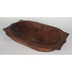 Bay Isle Home Glenfield Deep Wooden Dough Bowl with Handles Decorative Bowl Wooden Dough Bowl, Wooden Bowls, Decorative Pillows, Decorative Bowls, Rustic Home Interiors, Contouring And Highlighting, Old Antiques, Inspired Homes, Rustic Style