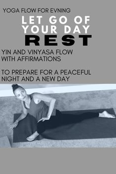 Flow to Prepare for SLEEP 😴  FREE YOURSELF - Evening Yoga Series 🌜 Use this free your body flow to find a free yourself flow.  It is an opportunity for an awaken flow.  IF YOU WANT AN AWESOME DAY - MAKE sure you have an AWESOME NIGHT!  WITH AFFIRMATIONS!