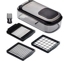 Kitchenaid Gourmet 3 In 1 Chopper And Slicer (Kitchenaid Gourmet 3 In 1 Chopper And Slicer Black)(Metal) Kitchenaid Professional, Slice Tool, Gotham Steel, Large Containers, Just Shop, Black Kitchens, Kitchen Tools, Kitchen Ware, Chopper