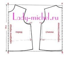 Основная выкройка блузки для девочки - Одежда для малышей - Выкройки для детей - Каталог статей - Выкройки для детей, детская мода