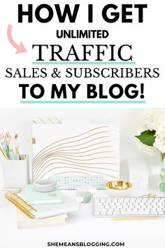 Learn how I get unlimited traffic, sales and subscribers to my blog and make money blogging. Get the best blogging tips, content marketing strategies and email marketing tips. Find out how you can make money blogging, grow email list, and increase website traffic inside this post! Read on about evergreen content creation and content marketing #contentstrategy #contentmarketing #bloggingtips #bloggingforbeginners #marketing Make Money Blogging, Make Money From Home, How To Make Money, Content Marketing Strategy, Email Marketing, Affiliate Marketing, Free Blog, Blogging For Beginners, Pinterest Marketing