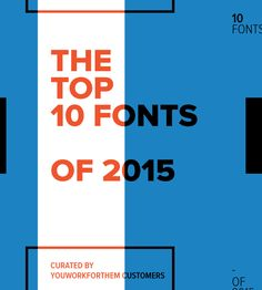 top10fontsof2015_cover Top 10 Fonts, Site Design, Typography Inspiration, Cool Designs, Repeat, Drawer, Fonts, Design Websites, Web Design