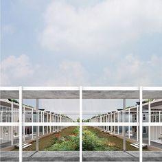 THE CLOISTER, Daisy Ames + Wanli Mo, Advanced Design Studio: Aureli, Yale School of Architecture: