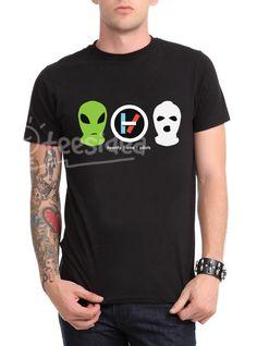 Twenty One Pilots mask Unisex Adult T Shirt - Get 10% Off!!! - Use Coupon Code 'TEES10'