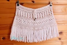 Crochet Beach Skirt