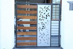 Fabulous Ideas Can Change Your Life: Bamboo Fence House fence lighting fields.Concrete Fence How To Make fence art tree. Fence Decor, Gate Design, Modern, Steel Fence, Fence Design