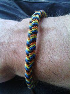 Wrapped bracelet gifted at Grateful Garcia Gathering 2014!