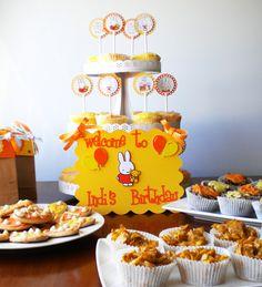 Indiana's Miffy Birthday | CatchMyParty.com