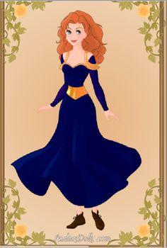 Merida- Azaleas Dolls by supereilonwypevensie.deviantart.com