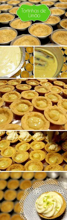 Mini lemon pie #yummy #sweet #cute