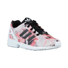 adidas Originals ZX Flux Girls' Grade School ($63) ❤ liked on Polyvore featuring shoes and adidas