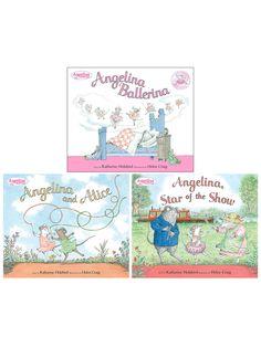 Angelina Ballerina & Friends Bundle (Hardcover) by Penguin at Gilt