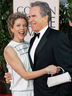 Annette Bening & Warren Beatty:  I appreciate their film work. And they seem to be a truly classy couple still deeply in love. Bravo!