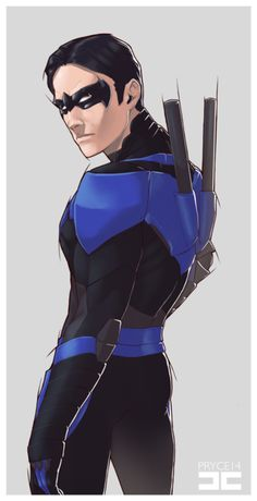 Nightwing by Jamal Campbell