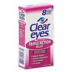 Clear Eyes® .5 oz. Triple Action Eye Drops