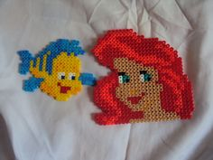 Perler Beads Little Mermaid
