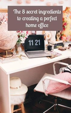 Home office - Let's work and study from home! Here you get inspiration on how you could design your home office. small Photo from Unsplash Cool Teen Bedrooms, Teen Bedroom Designs, Beautiful Bedrooms, Bedroom Ideas, Master Bedrooms, Bedroom Decor, Office Interior Design, Home Office Decor, Office Interiors