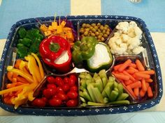 veggie trays for baby shower | Veggie Tray by Trace | Baby Shower ideas