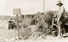 The Ottomans were fighting alongside Germany, so the aim of the campaign was to knock them out of the war by capturing Constantinople, but the plan failed spectacularly, with 250,000 Allied troops injured or killed in vain. Pictured, a signpost warning soldiers of a 'dangerous' sniper