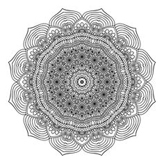 Buy The Second One and Only Mandala Colouring Book: Second Mandala Colouring…